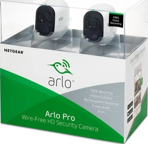 Arlo Pro Smart Security System with 2 Cameras | VMS4230-100