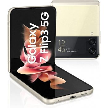 Samsung Galaxy Z Flip3 Mobile Phone, 8 GB, 256GB, 5G - Gold   Z Flip3
