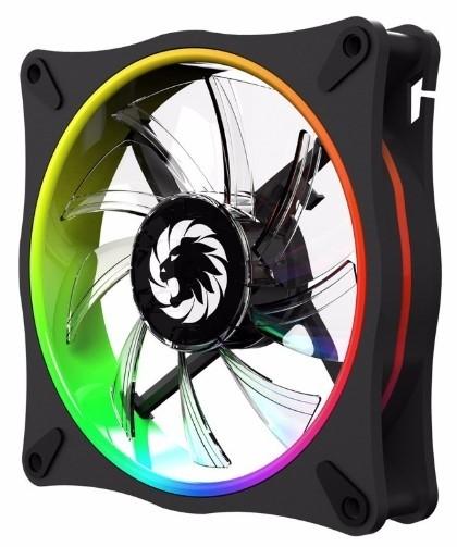 Gamemax Rl 300 Rainbow 3pcs 120mm Cooling Fan In A Kit