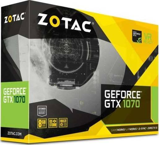 ZOTAC GeForce GTX 1070 Mini 8GB GDDR5 256-bit PCI Express 3.0 | ZT-P10700G-10M