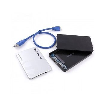Haysenser USB 3 0 Hard Drive Enclosure, Size 2 5 Inch, Easy Convert SSD &  HDD From Internal To External