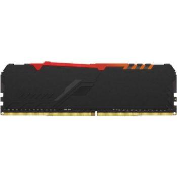 HyperX Fury RGB 8GB DDR4 Desktop Memory, 3600Mhz Non ECC Memory RAM DIMM | HX436C17FB3A/8