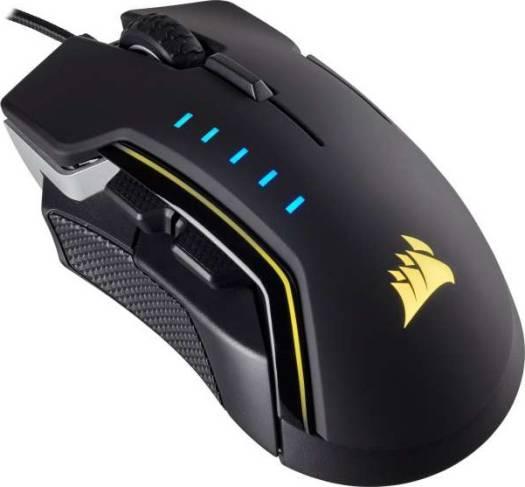 Corsair Glaive RGB Optical Gaming Mouse 16000dpi — Aluminum | CH-9302111-NA