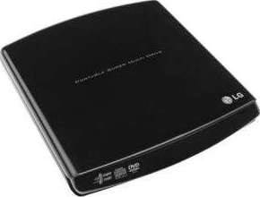 LG - GP10NB20 External SLIM DVD R/RW Black