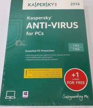 Kaspersky Antivirus 2016+ 1 License for FREE
