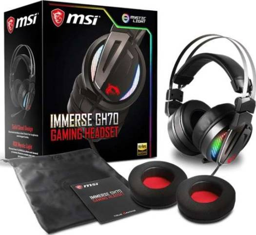 MSI Immerse GH70 Gaming Headset | S37-2100970-Y86
