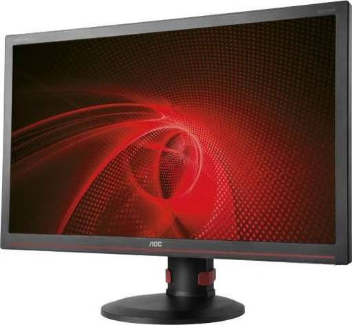 AOC 27 Inch 1ms Black FreeSync Professional 144Hz Gaming LEDMonitor, 1920 x 1080, 50000000:1, 300cd/m2, 16:9, HDMI, VGA, USB, DVI-D, Display Port, Tilt, Swivel, Height Adjustment, Built-in Speaker | G