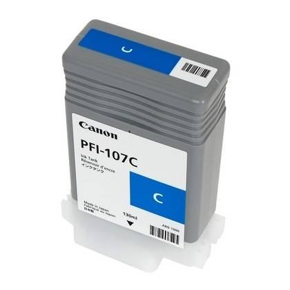 Genuine Cyan Canon PFI-107C Ink Cartridge   6706B001AA