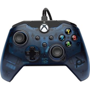 PDP Gaming Wired Controller for Xbox Series X S, Xbox One  (049-012-EU-BL) – Midnight Blue   049-012-EU-BL
