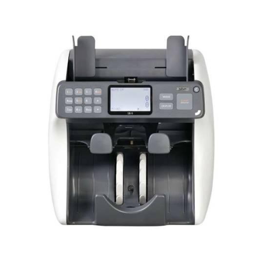 SBM SB-9 BankNote Discrimination Counter Counting Machine 2 Pockets Machine, Up to 10 Currencies, UV/MR/MG/IR | SB-9