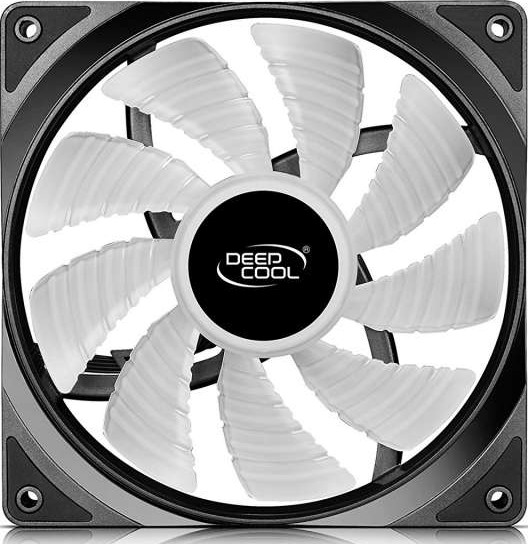 DEEPCOOL RF140, 140mm RGB LED PWM Fan with Cable Controller Included |