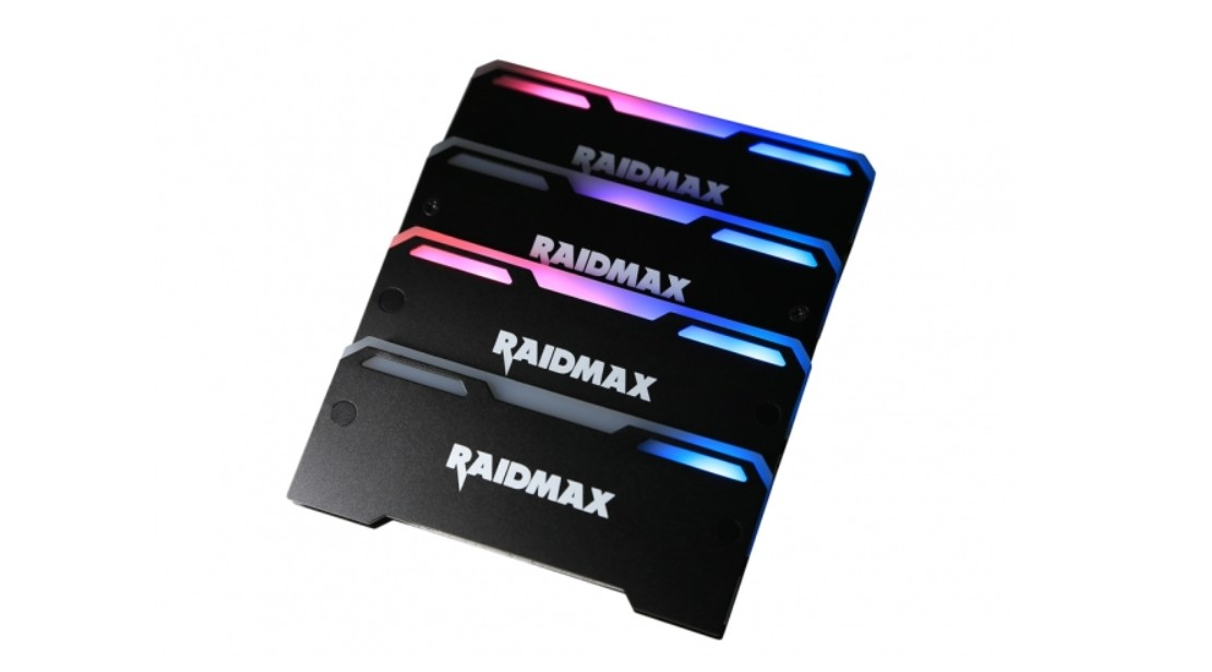 Raidmax MX-902F Addressable RGB Memory RAM Cooler Heatsink For PC Gaming  Overclocking MOD Supports DDR DDR3 DDR4-2 Pack | MX-902F