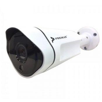 Premax AHD Bullet 4MP CCTV Camera - White | PM-BCC87