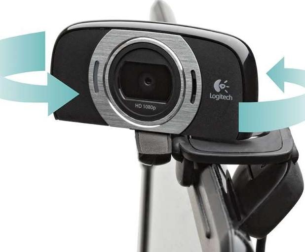 e873882c485 Logitech C615 HD Laptop Webcam with Fold-and-Go Design, 360-Degree ...