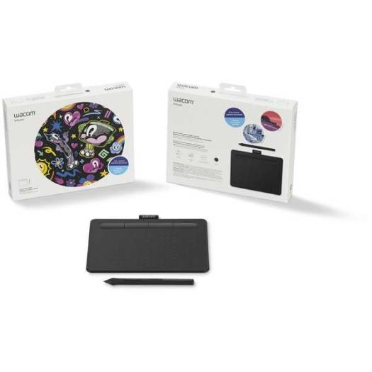 Wacom Intuos S Creative Pen Tablet – Small, Black | CTL-4100K-N