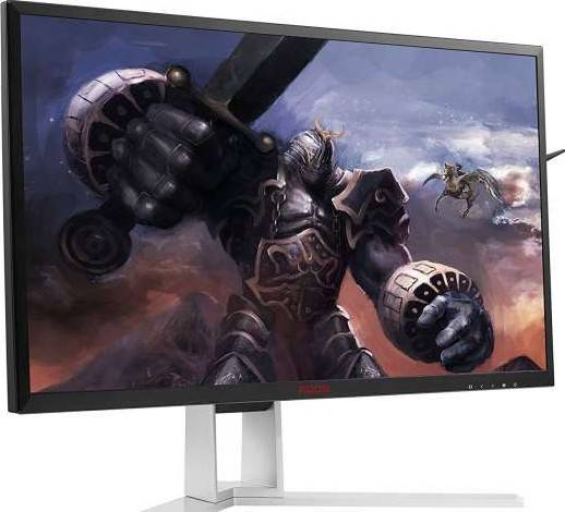 AOC  Agon 24 Inch Gaming Monitor, 2560x1440 Res, 165hz, 1ms, G-Sync, HDMI, DP, USB, SPK, Height-Pivot | AG241QG