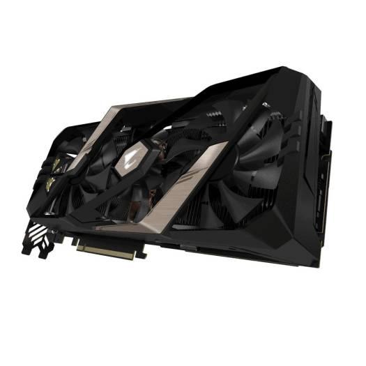 Gigabyte AORUS GeForce RTX™ 2080 Ti XTREME 11G, GDDR6, 352 bit, Core Clock 1770 MHz, CUDA® Cores 4352, max resolution 7680x4320@60Hz, PCI-E 3.0 x 16 | GV-N208TAORUS X-11GC