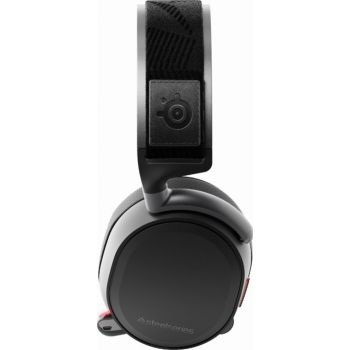 SteelSeries Arctis 7 (2019 Edition) Lossless Wireless Gaming Headset with DTS Headphone:X v2.0 Surround for PC and PlayStation 4, Black | 61505