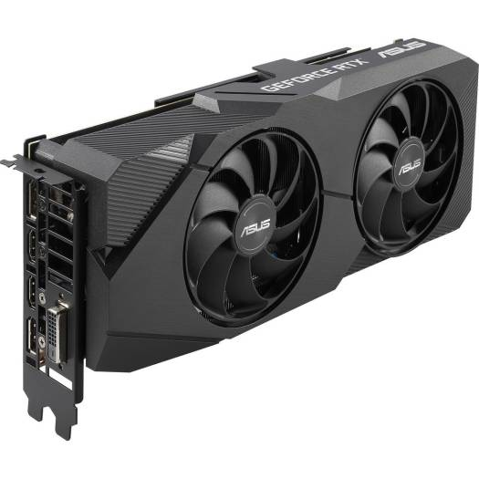 ASUS Dual GeForce RTX 2070 SUPER EVO OC edition,  8GB GDDR6, 2x Axial-tech fans, CUDA Core 2560, Memory Interface 256-bit, HDMI, Display Port, HDCP Support | 90YV0DK0-M0NA00
