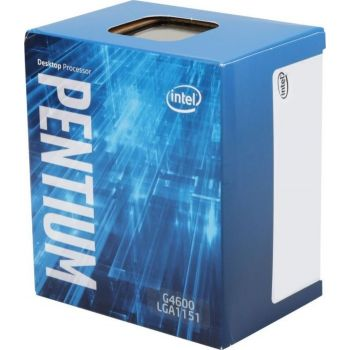 Intel Pentium G4600 Kaby Lake Dual-Core 3.6 GHz CPU Desktop Processor, LGA 1151, 51W, Intel HD Graphics 630 | BX80677G4600
