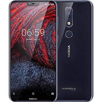 Nokia 6.1 Plus Dual SIM Mobile Phone, 4GB RAM, 64GB, 4G LTE - Black | N17946945A