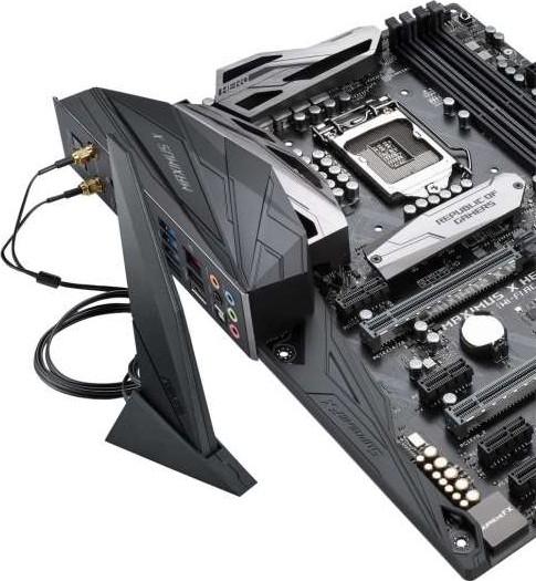 Asus ROG Maximus X Hero Wi Fi AC ATX Motherboard Intel Z370, LGA1151 DDR4  DP, HDMI, M 2 Z370, 802