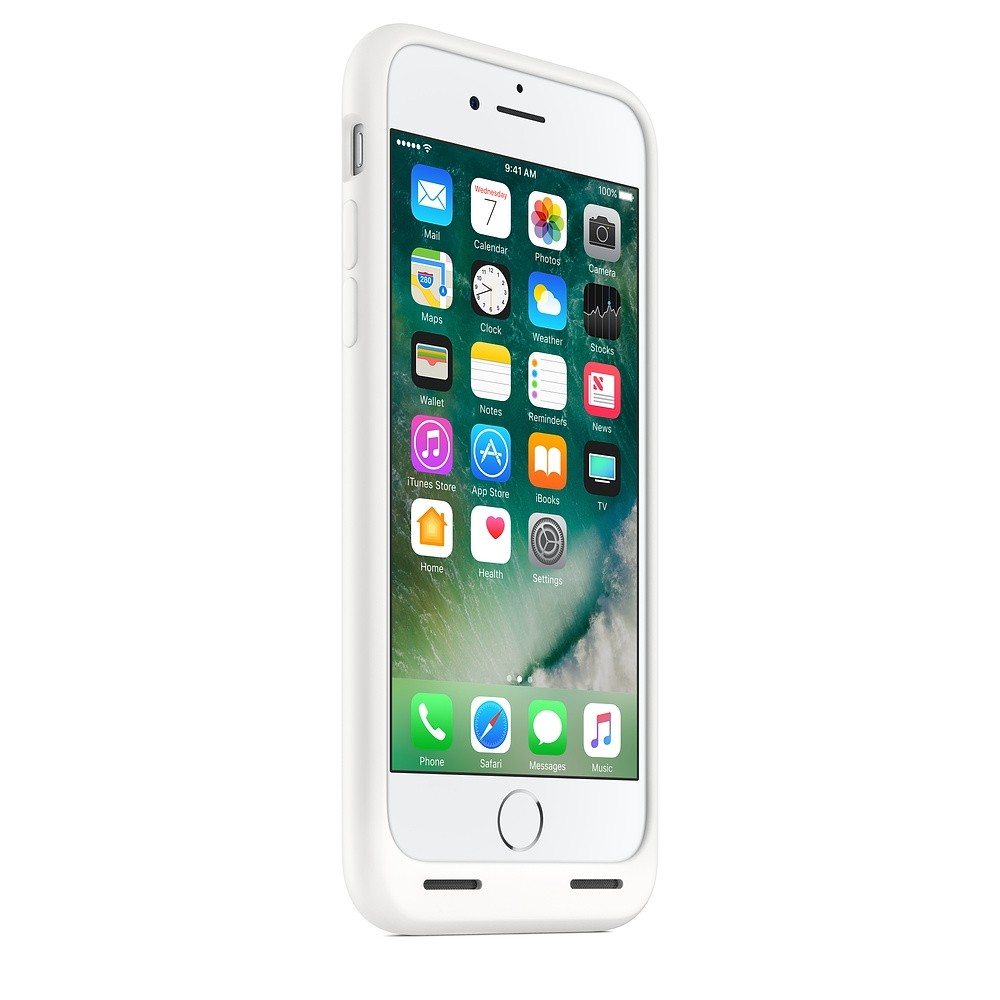 the latest f294a 66f54 Apple iPhone 7 Smart Battery Case White MN012