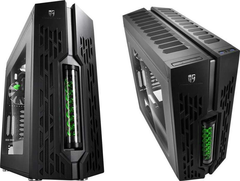 Deepcool Genome Ii Tower Gaming Case Black Liquid Cooling