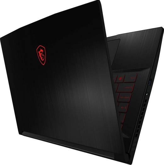 MSI GF63 Thin Gaming Laptop 10SCXR With 15.6-Inch Display, CORE i7 10750 H Processor/16GB RAM/512GB SSD/4GB NVIDIA GeForce GTX 1650 Graphics Card Black | 9S7-16R412-017