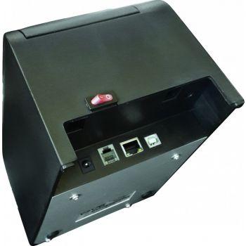 Oscar POS58EU 58mm Thermal Bill POS Receipt Printer USB+Ethernet Without Auto-Cutter - Black | MRPOSC05900TB