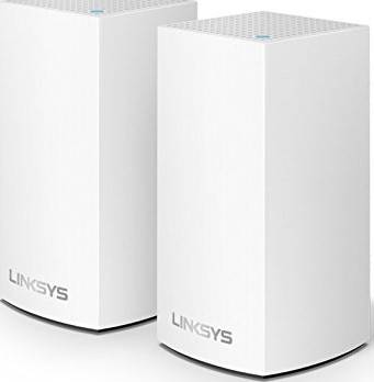 Linksys WHW0102 Velop Whole Home Intelligent Mesh WiFi System, Dual-Band - 2-Pack,   WHW0102