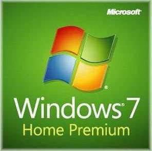 Windows 7 Home Premium SP1 64bit Full System Builder DVD 1 Pack