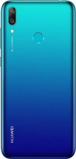 Huawei Y7 Prime (2019), 64GB, 4G LTE Dual Sim - Aurora Blue   DUB-LX1 Buy,  Best Price in Saudi Arabia, Riyadh, Jeddah, Medina, Dammam, Mecca