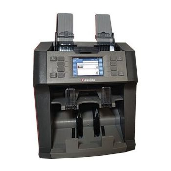 Cassida Neo 2 Pocket Mix Value Counter & Sorter, Bill Counter, Up to 12 Multi Currency Counter Machine   Neo-2
