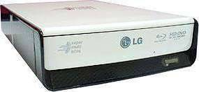 LG BE06 External Blu-ray Disc Rewriter & HD DVD-ROM Drive