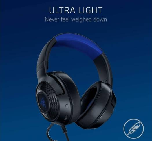 RAZER Kraken X, Multi-Platform Wired Gaming Headset - Blue/Black | RZ04-02890200-R3M1