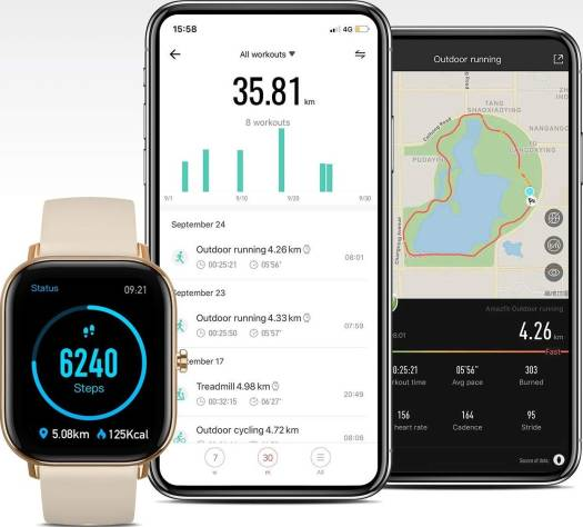 Huami Amazfit GTS Smart Watch - Gold   A1914