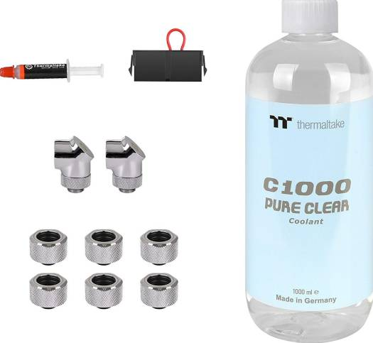 Thermaltake Pacific M360 Plus D5 Res/Pump PETG Hard Tube Water Cooling Kit | CL-W218-CU00SW-A