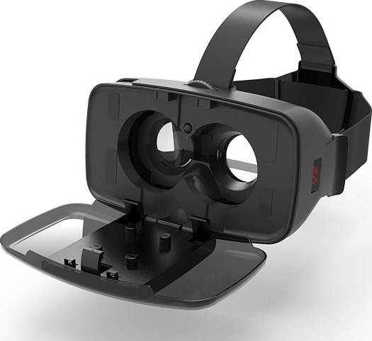 """Homido V2 Virtual Reality Headset,110FOV,True Immersive HD VR Headset Fits for 4.7-6"""" iPhone 6 6s7 8/Plus X, Android Phones Samsung, Touch Button Easily Control to Play VR Movie And Games"""