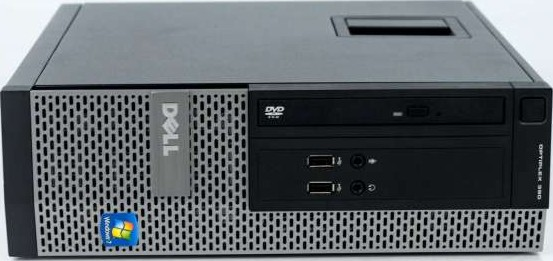 Dell Optiplex 390 SFF Inte Core i5 2400 3 1Ghz, 4GB, 500Gb, Windows 7 Pro  Used
