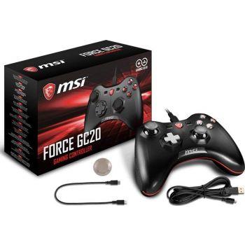 MSI Force GC20 Gaming Controller | PAD-S10-0400010-EC4