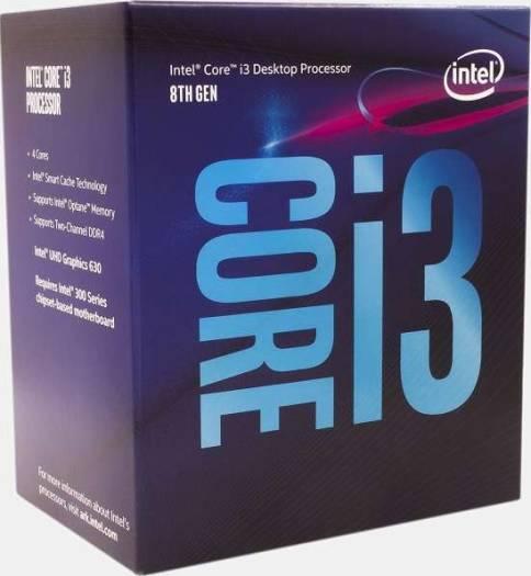 Intel Core i3-8100 Coffee Lake 8th Gen 4-Core 3.6 GHz LGA 1151 Intel UHD Graphics 630 Desktop Processor  | BX80684I38100