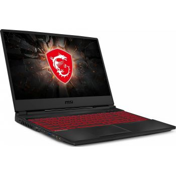 "MSI GL65 Leopard 10SCXR-009XPL Gaming Laptop, 15.6"" FHD 120Hz, Intel i7-10750H 2.6GHz, 8GB, 256GB SSD, 4GB NVIDIA GTX 1650, FreeDOS - Black   9S7-16U822-009"