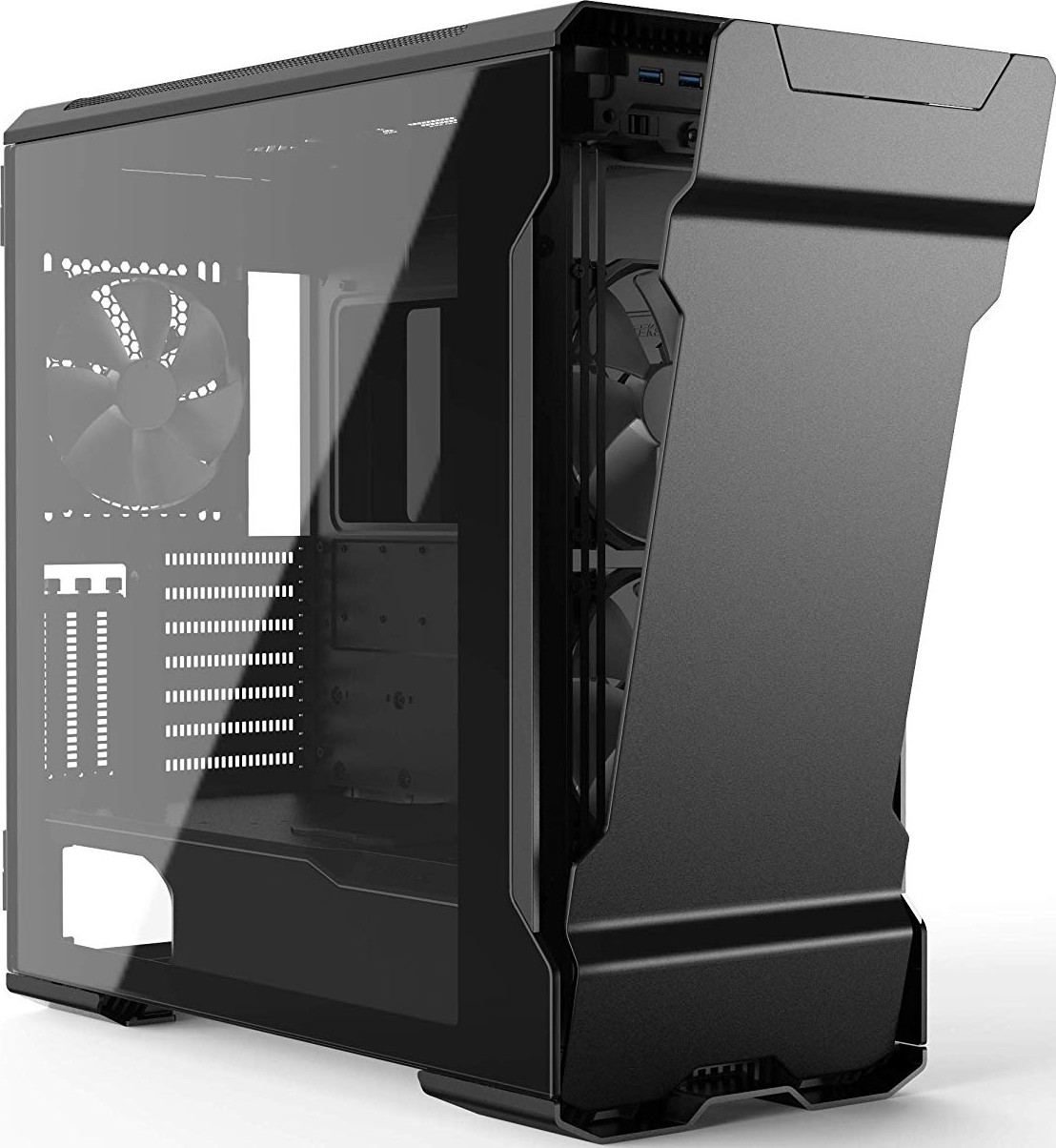 Phanteks Enthoo Evolv X ATX Case Tempered Glass Windows Digital RGB Satin  Black Color | PH-ES518XTG_DBK01