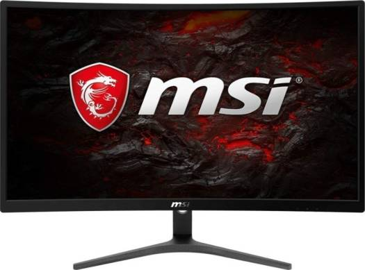 "MSI Optix G241VC Full HD FreeSync Gaming Monitor 24"", Curved Non-Glare, 1ms, LED Wide Screen 1920 X 1080, 75Hz Refresh Rate 