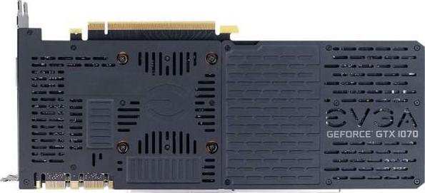 EVGA GeForce GTX 1070 SC2 GAMING, 8GB GDDR5, iCX 9 Thermal Sensors LED G P  M, Asynchronous Fan C