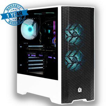 Bang for the Buck Gaming PC ( 10Th Core I5 10400F 4.3 Ghz , 16GB RGB RAM OC ,RTX 2060 OC 6GB , 240GB SSD + 1TB HDD, 550W PSU , WIFI 6 + Bluetooth 5.0 Built-In ) 1 YEAR WARRANTY