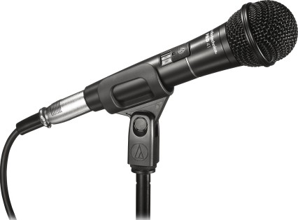 Audio Technica PRO 41 Cardioid Dynamic Handheld Microphone, 90 16,000 Hz  Frequency Response, 300 ohm
