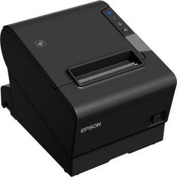 Epson TM-T88VI (112A0): Serial, USB, Ethernet, Buzzer, PS, Black, UK Future-Proof Receipt Printer   TM-T88VI