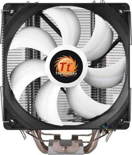 Thermaltake Contac Silent 12 CPU Cooler 150W INTEL AMD with AM4 Support  120mm CL P039 AL12BL A
